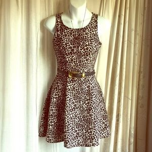 Cheetah Skater Dress